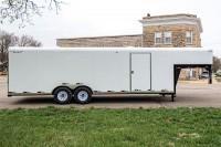 101 Series Gooseneck Car Carrier side