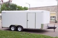 101 Series V-Nose Tandem Axle Cargo Trailer side