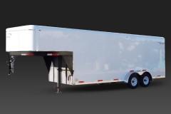 Gooseneck Tandem Axle Cargo Trailer