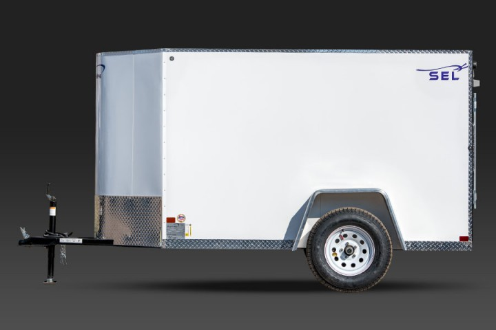 SEL Single Axle Cargo Trailer 5 Wide