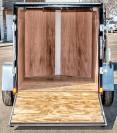 SEL Single Axle Cargo Trailer 5 Wide inside