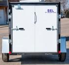 SEL Single Axle Cargo Trailer 5 Wide rear