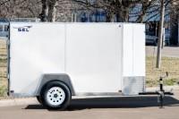 SEL Single Axle Cargo Trailer 5 Wide side