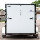 SEL Tandem Axle Cargo Trailer back