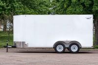 SEL Tandem Axle Cargo Trailer side