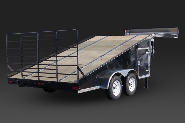 Sled Wedge Snowmobile Trailer
