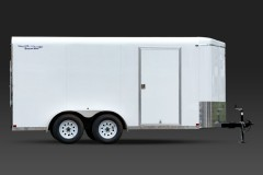 V-Nose Tandem Axle Cargo Trailer 7 Wide