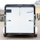 V-Nose Tandem Axle Cargo Trailer 7 Wide back