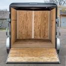 V-Nose Tandem Axle Cargo Trailer 7 Wide inside