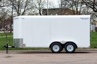 V-Nose Tandem Axle Cargo Trailer 7 Wide side